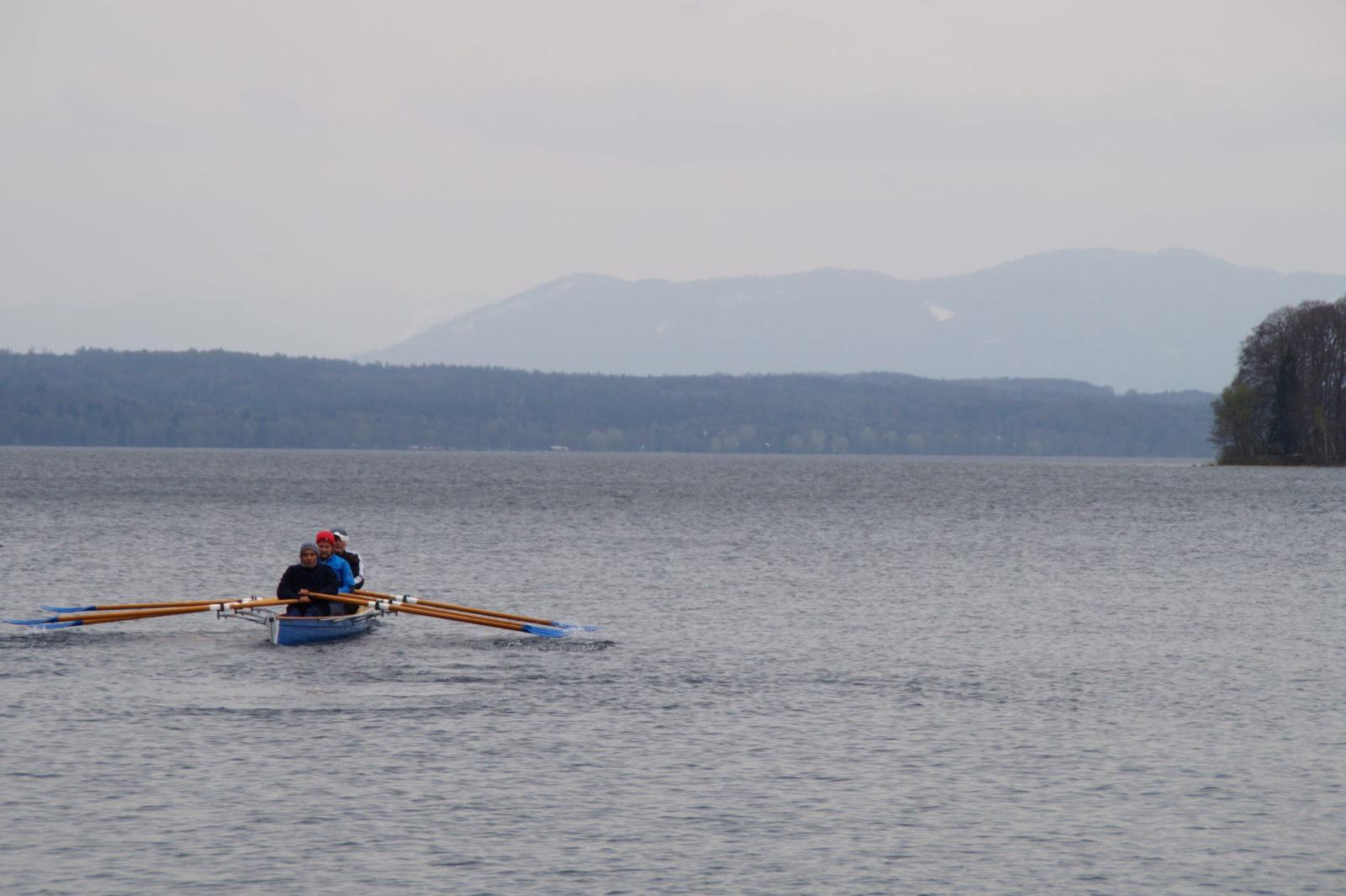 Rudern auf dem Starnberger See