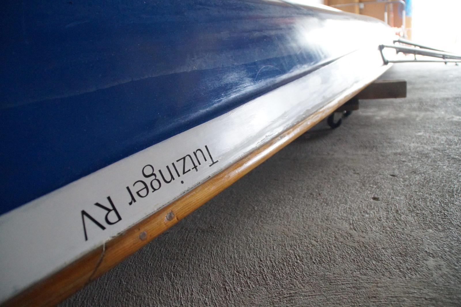 Ruderboot vom Tutzinger Sportverein