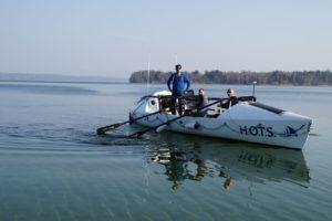 Hochseeruderboot für Atlantiküberquerung